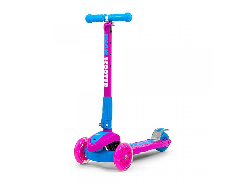 30152 detska kolobezka milly mally magic scooter pink blue