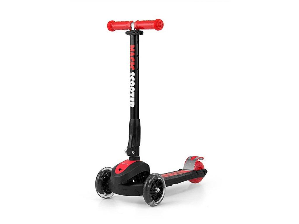 10706 detska kolobezka milly mally magic scooter red