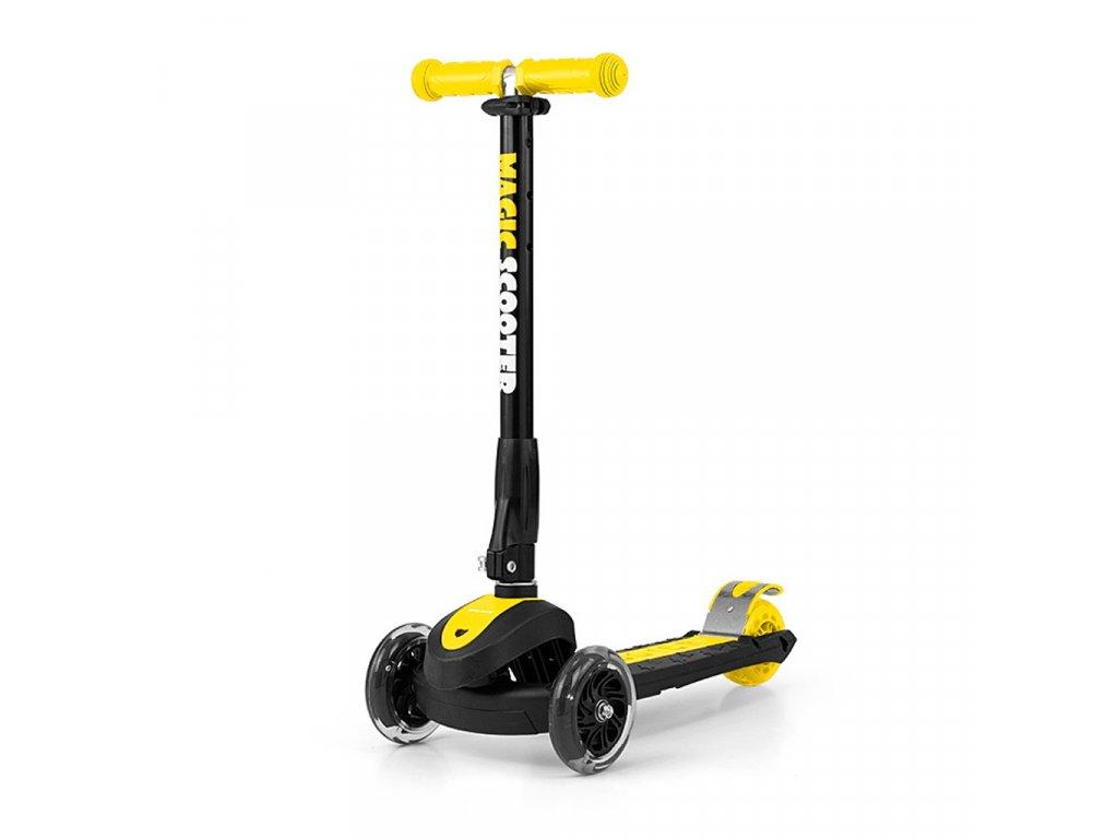 30149 detska kolobezka milly mally magic scooter yellow