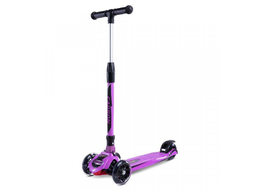 20825 detska kolobezka toyz carbon purple