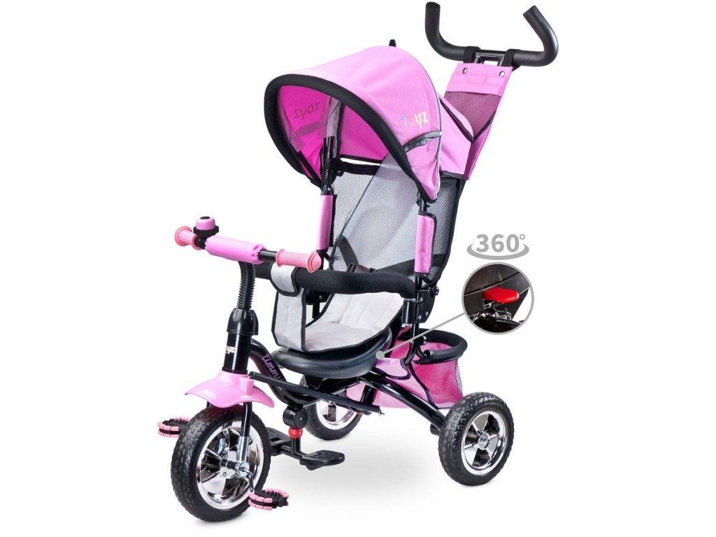 11570 detska trikolka toyz timmy pink 2017