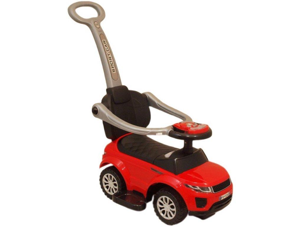 9245 detske hrajici jezditko 3v1 baby mix cervene