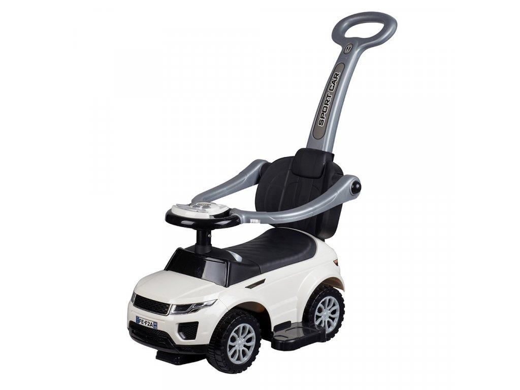33755 detske hrajici jezditko 3v1 bayo sport car white