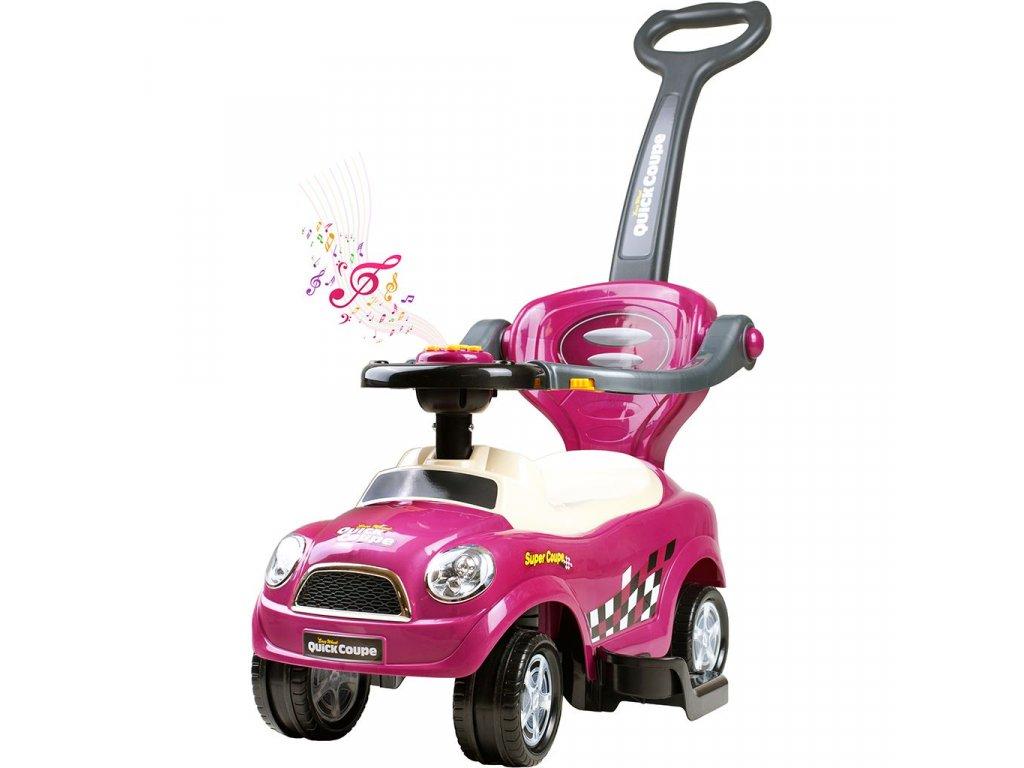 10148 detske hrajici jezditko 3v1 bayo super coupe purple