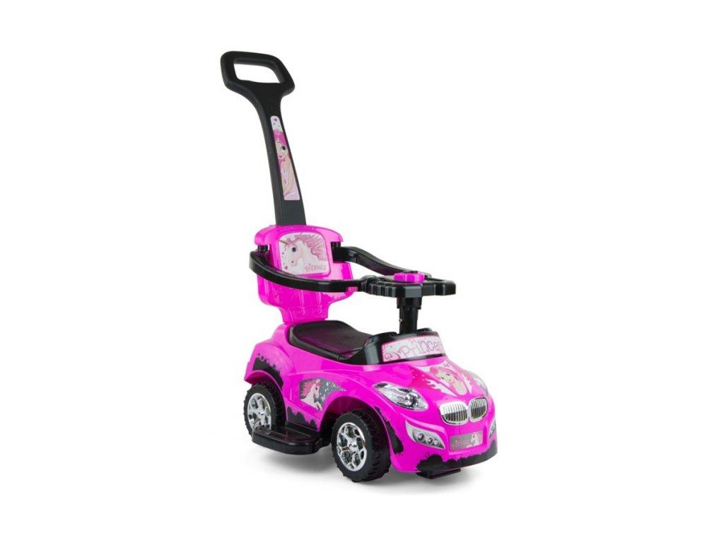 4634 detske jezditko 2v1 milly mally happy pink