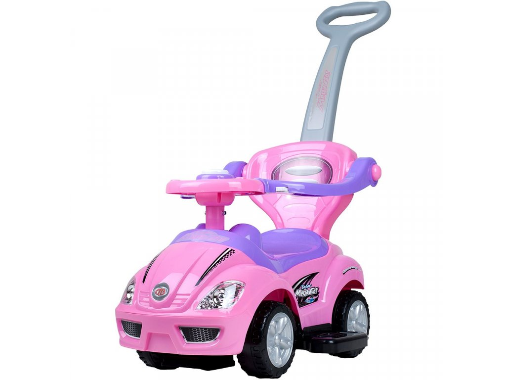 10130 detske jezditko 3v1 bayo mega car pink