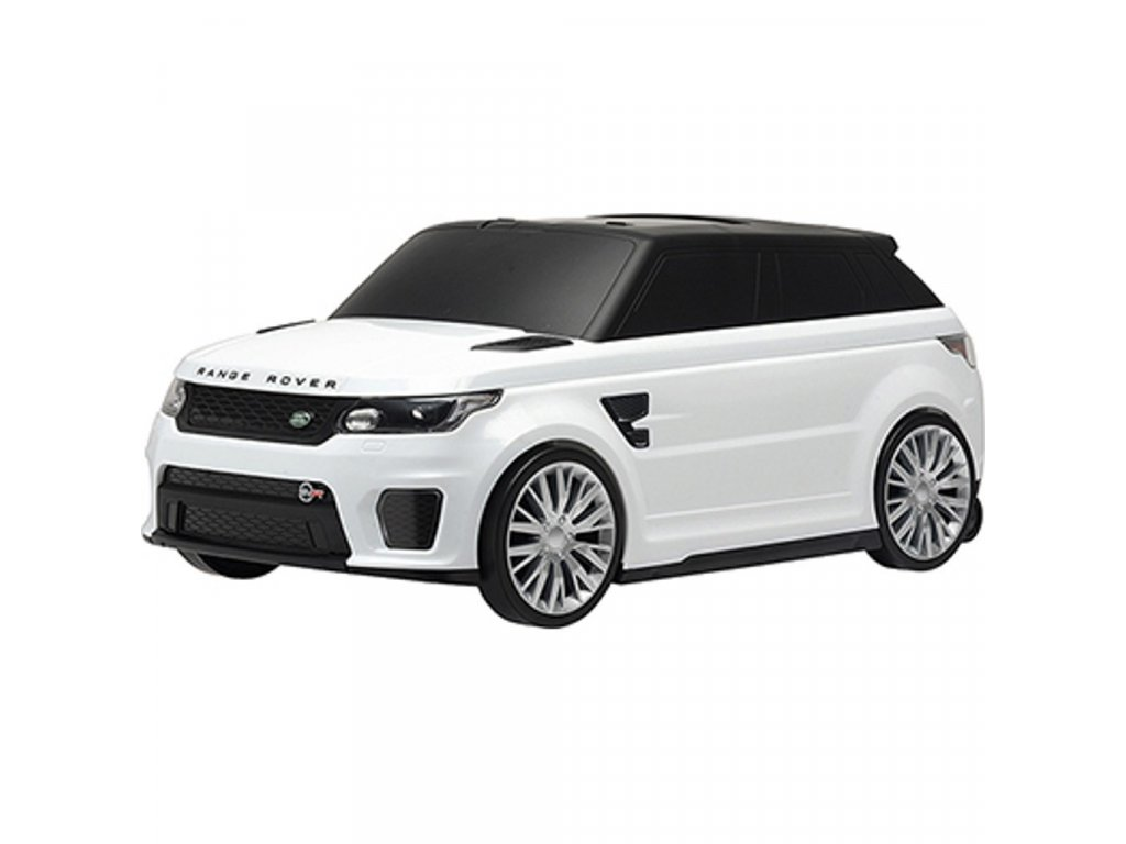 24257 detske jezditko a kufrik 2v1 range rover svr white