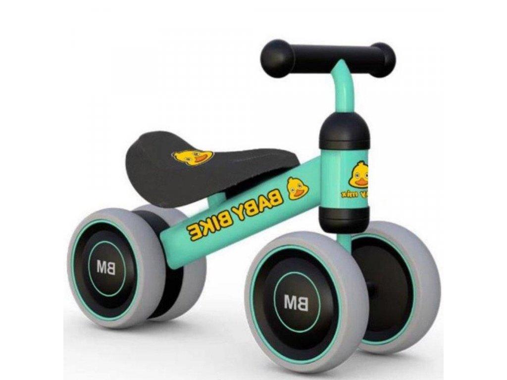 23153 detske odrazedlo baby mix baby bike green