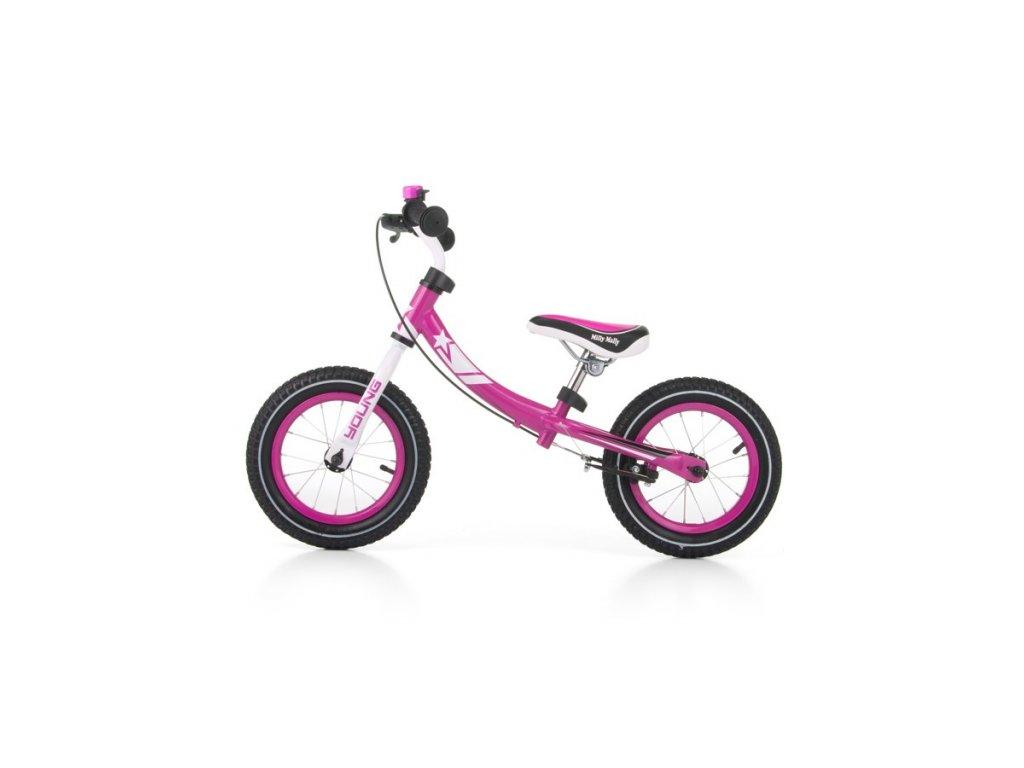 4619 detske odrazedlo kolo milly mally young pink