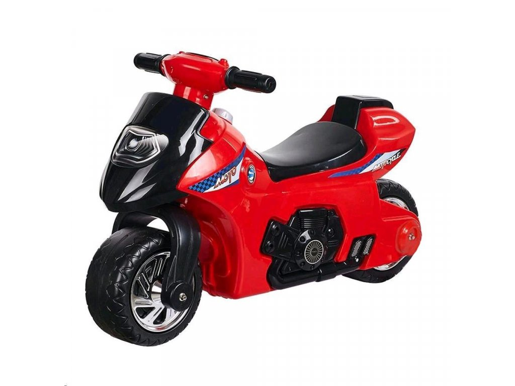 23165 detske odrazedlo se zvukem motorka bayo red