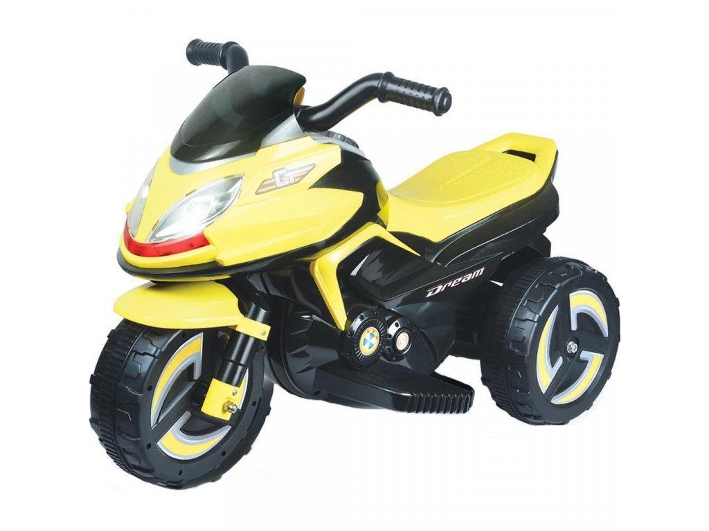 9959 elektricka motorka bayo kick yellow