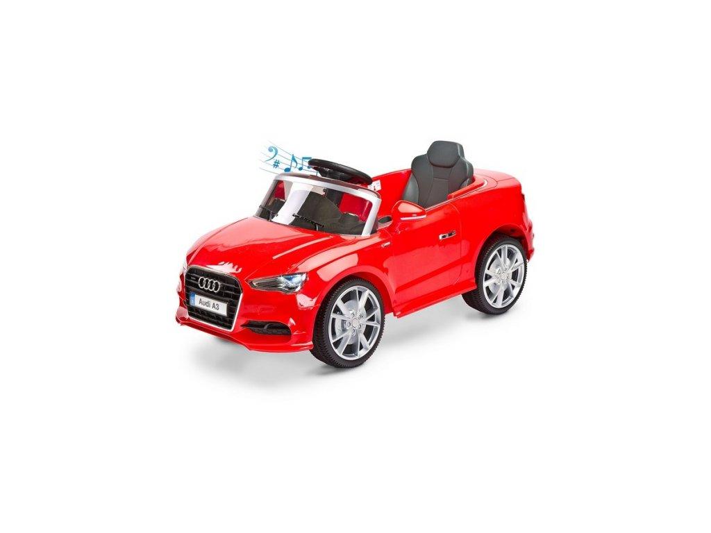 12887 elektricke auticko toyz audi a3 2 motory red