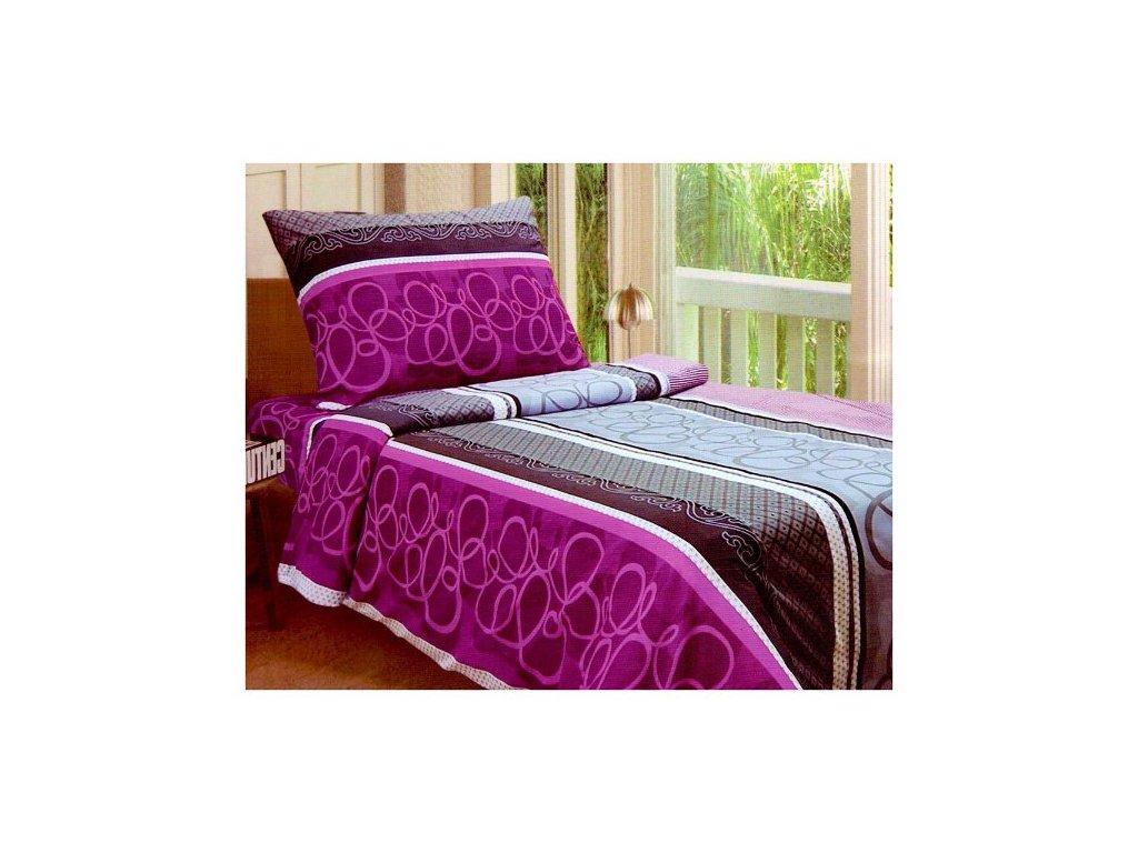 Sada ložního povlečení na dvě postele 140x200 cm - BORDELUX