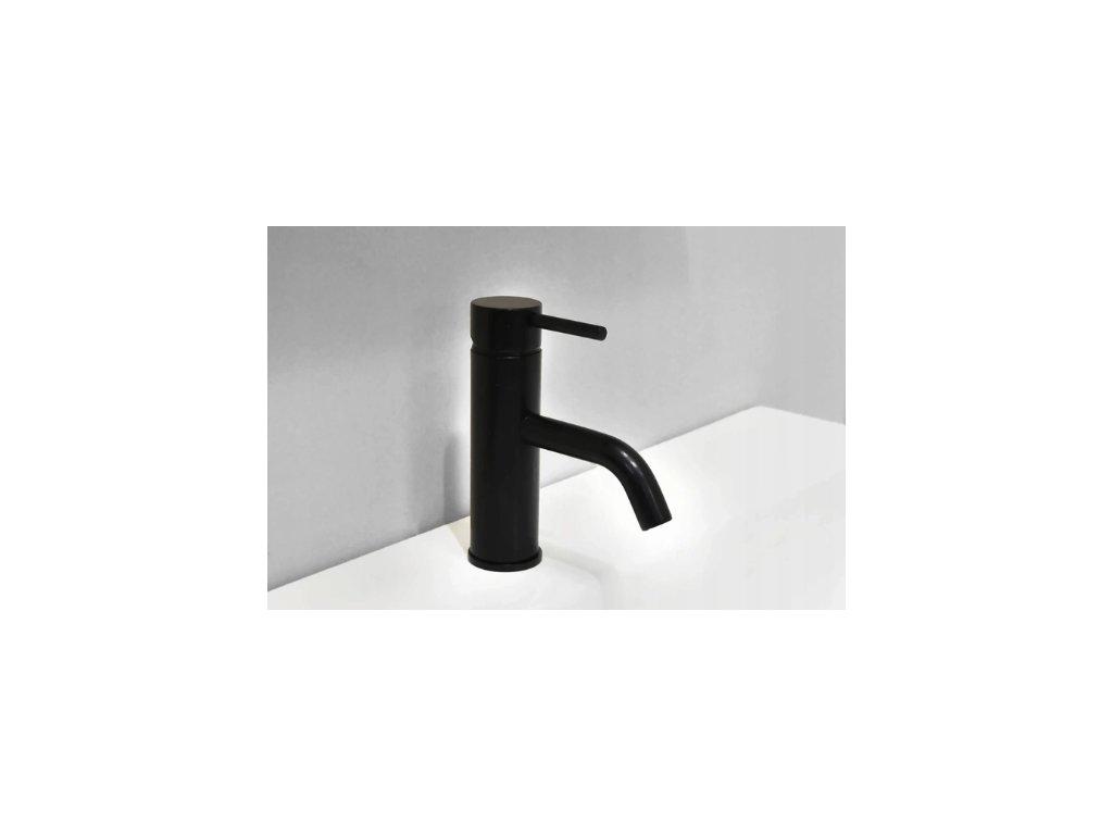 Nízká umyvadlová baterie REA GRAFF - Černá