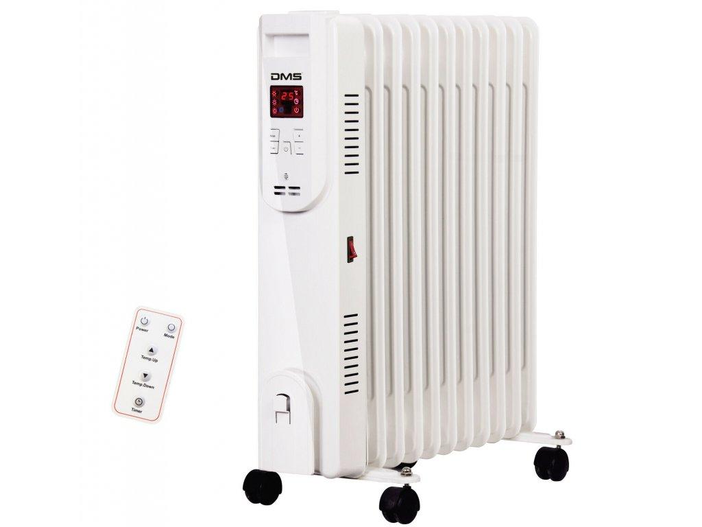 Olejový radiátor DMS OR-11 / 2500 W