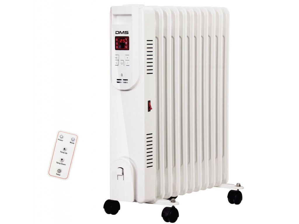 Olejový radiátor DMS OR-13 / 2500 W