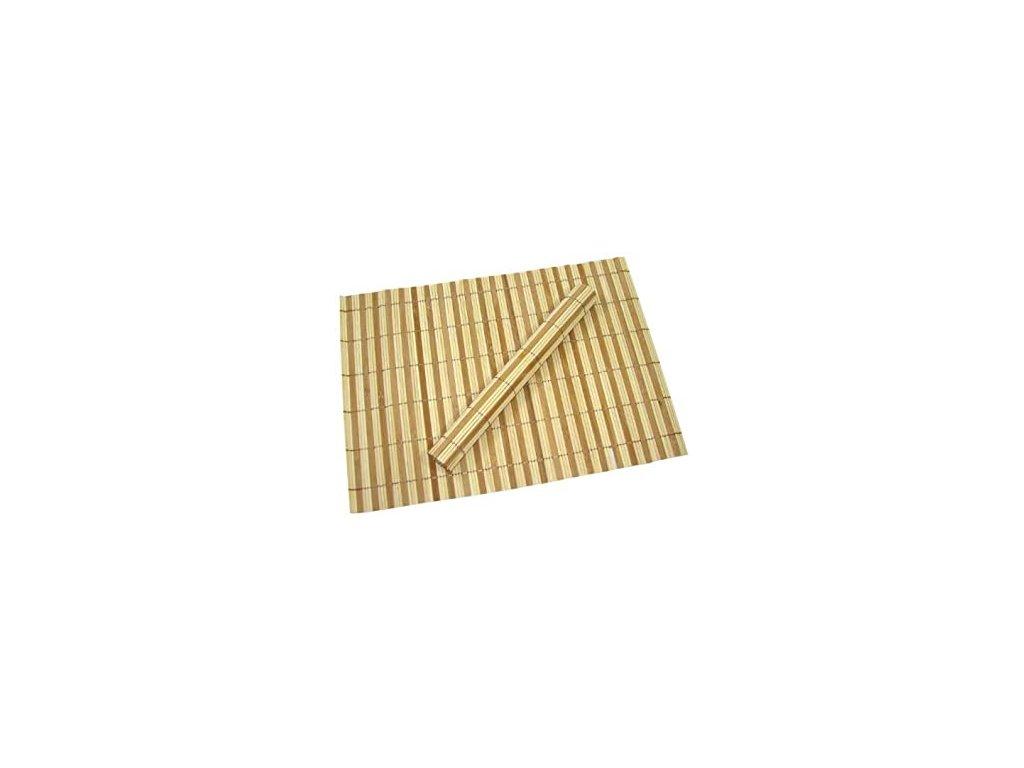 EmaHome - Prostírání 35 x 50 cm 4 ks 100% bambus natural