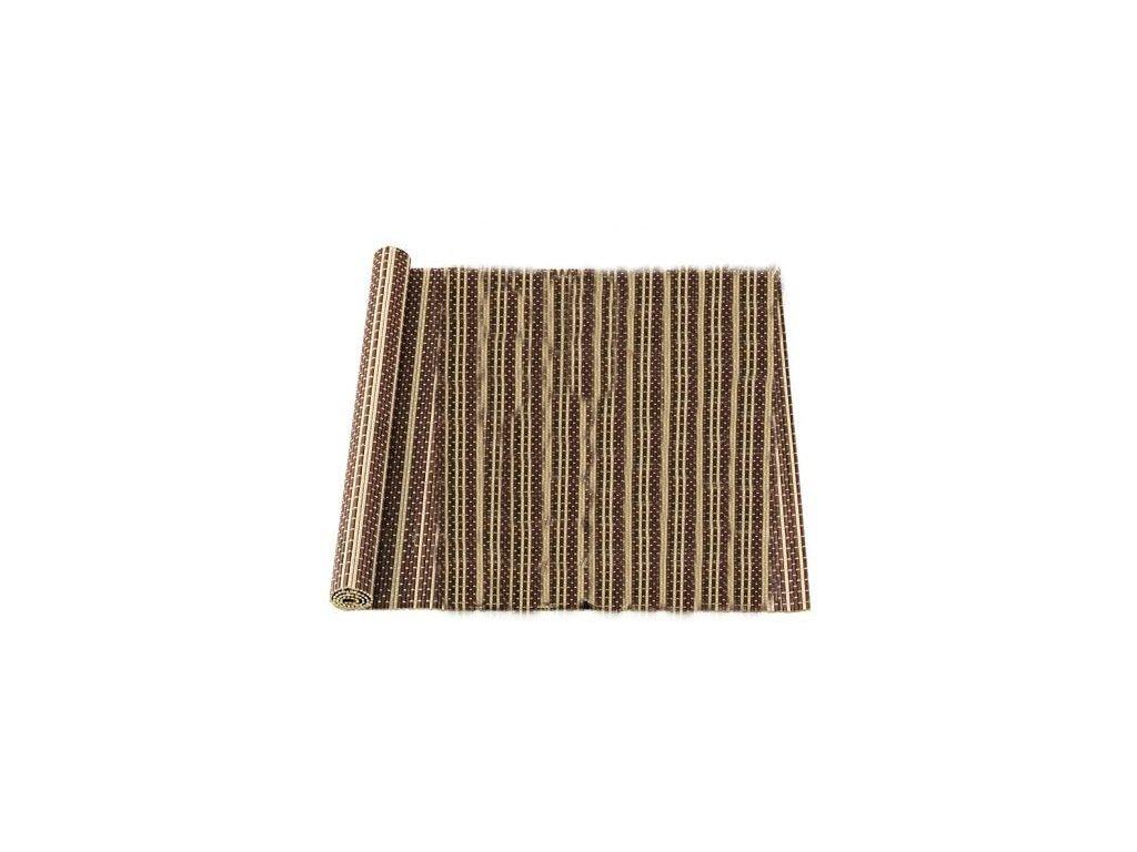 EmaHome - Prostírání 40 x 150 cm 100% bambus hnědá