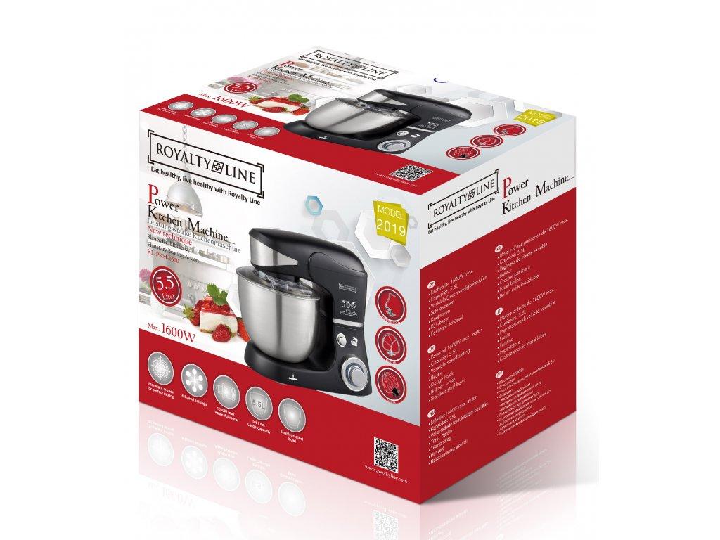 Kuchyňský robot PKM1600 hnětač Royalty Line / černý