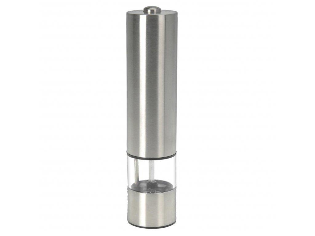 EmaHome - Elektrický mlýnek na sůl a pepř stříbrný