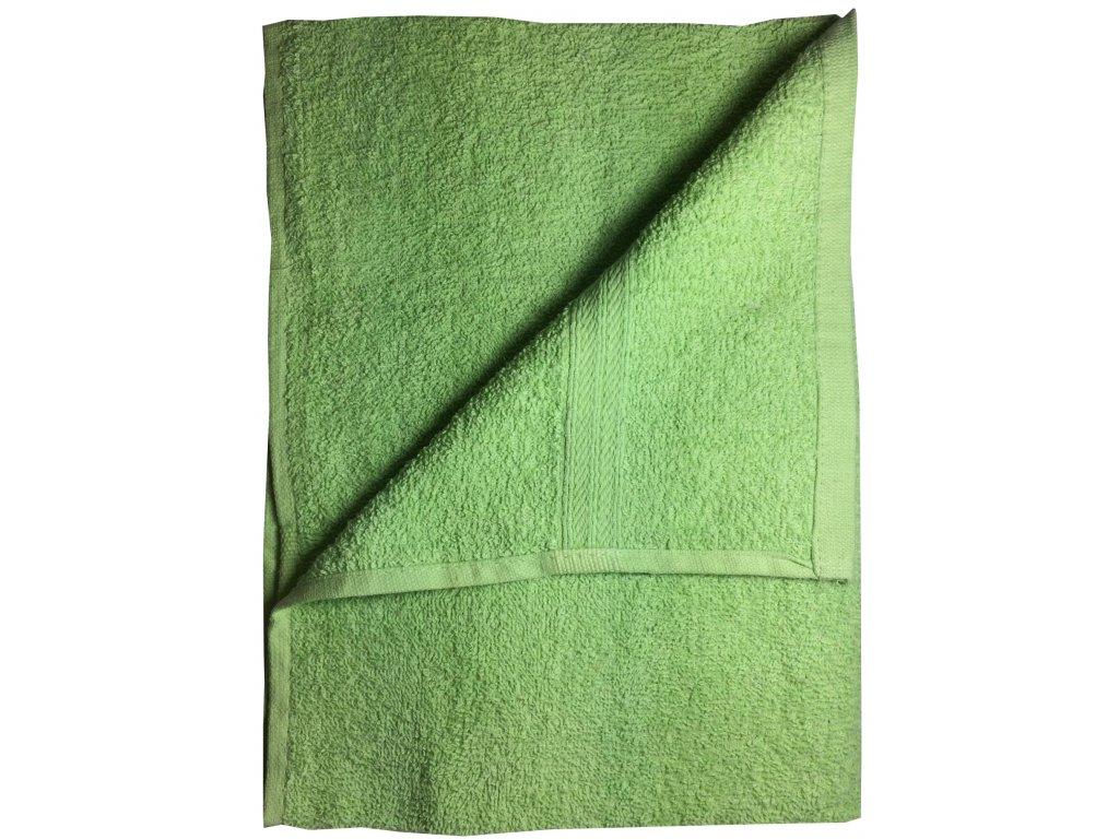 EmaHome - Ručník 50x100 cm bavlna / zelený