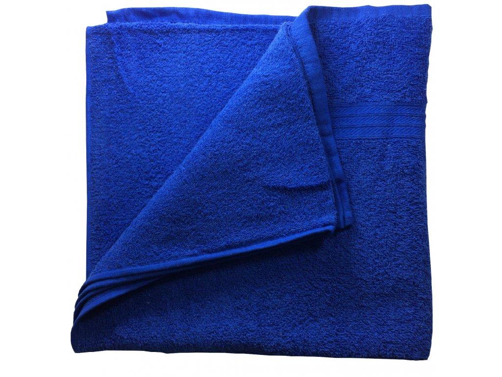 EmaHome - Osuška 70x140 cm bavlna / tmavě modrá
