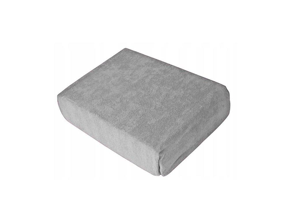 EmaHome - Froté prostěradlo 120x200 cm šedá 119