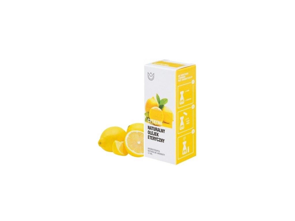 EmaHome - Přírodní éterický olej - citronový 12ml