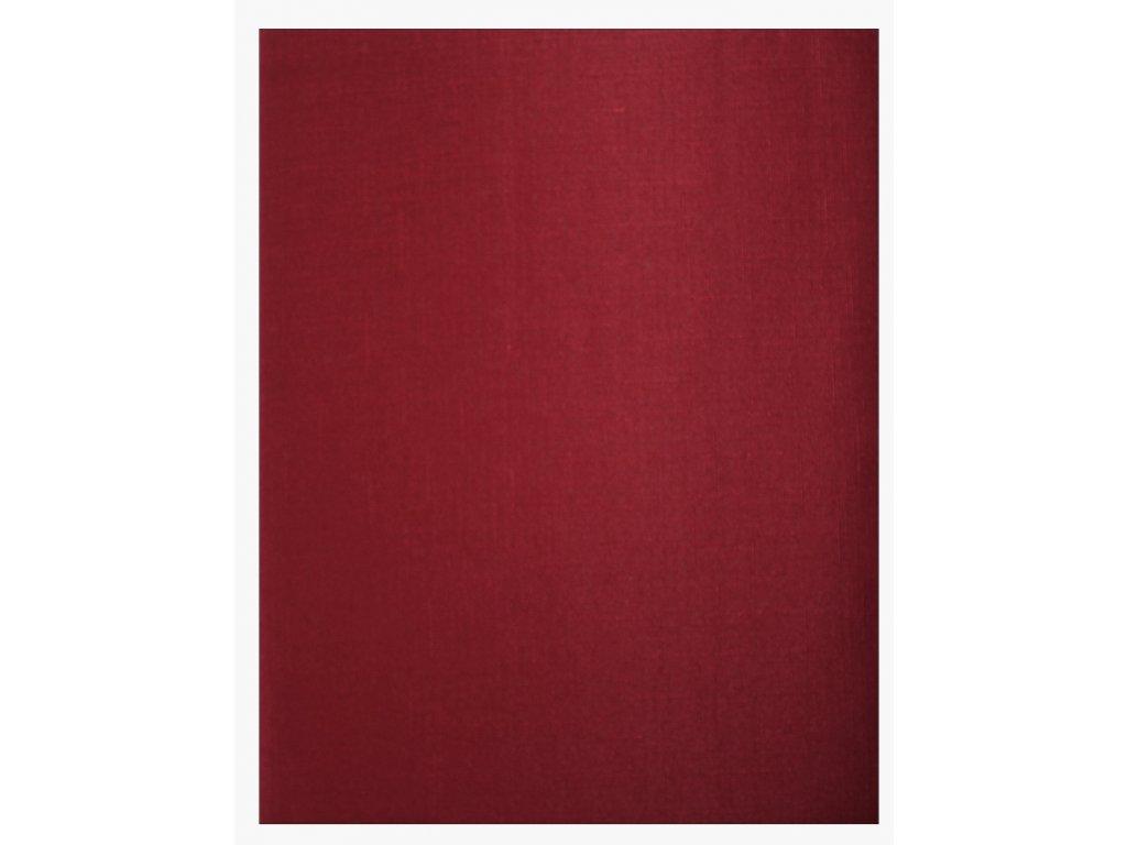 EmaHome - Ubrus s ochranou proti skvrnám 130 x 160 cm / tmavě červená
