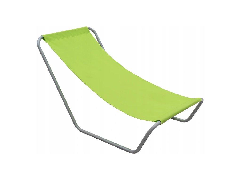 Zahradní lehátko 490295 / relaxační křeslo / zelené