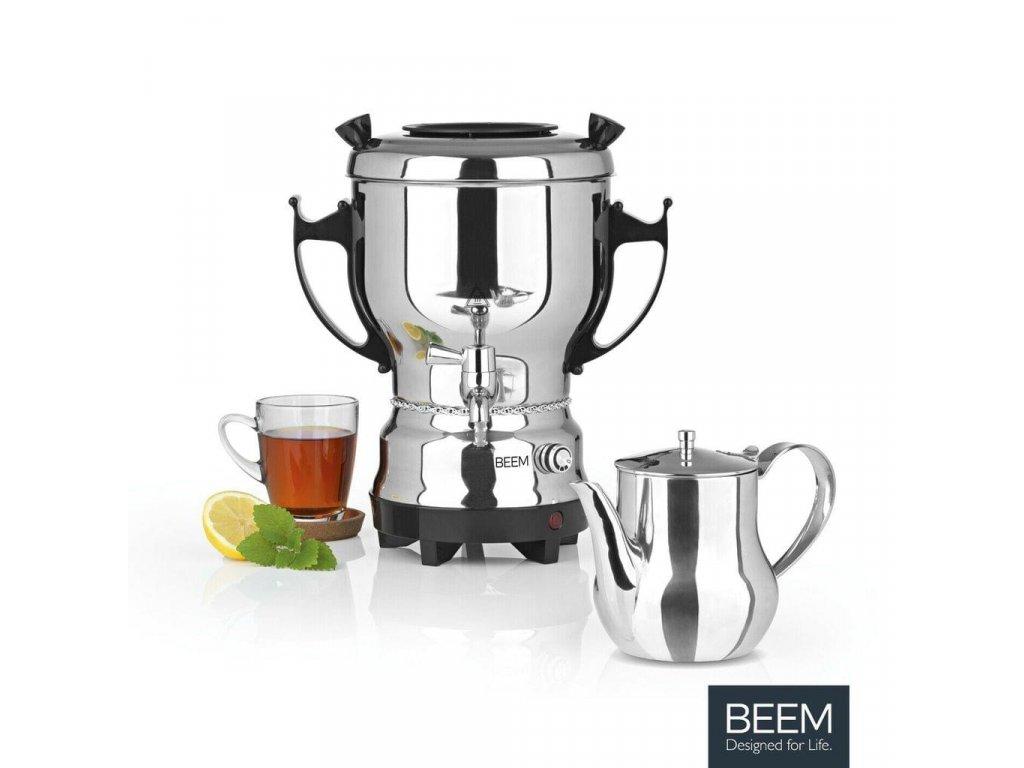 Nerezový samovar na čaj BEEM / 3 l / 2200 W