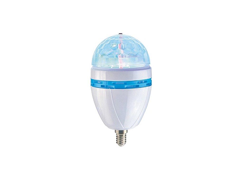 Party LED osvětlení E14 / HG01087B / barevné