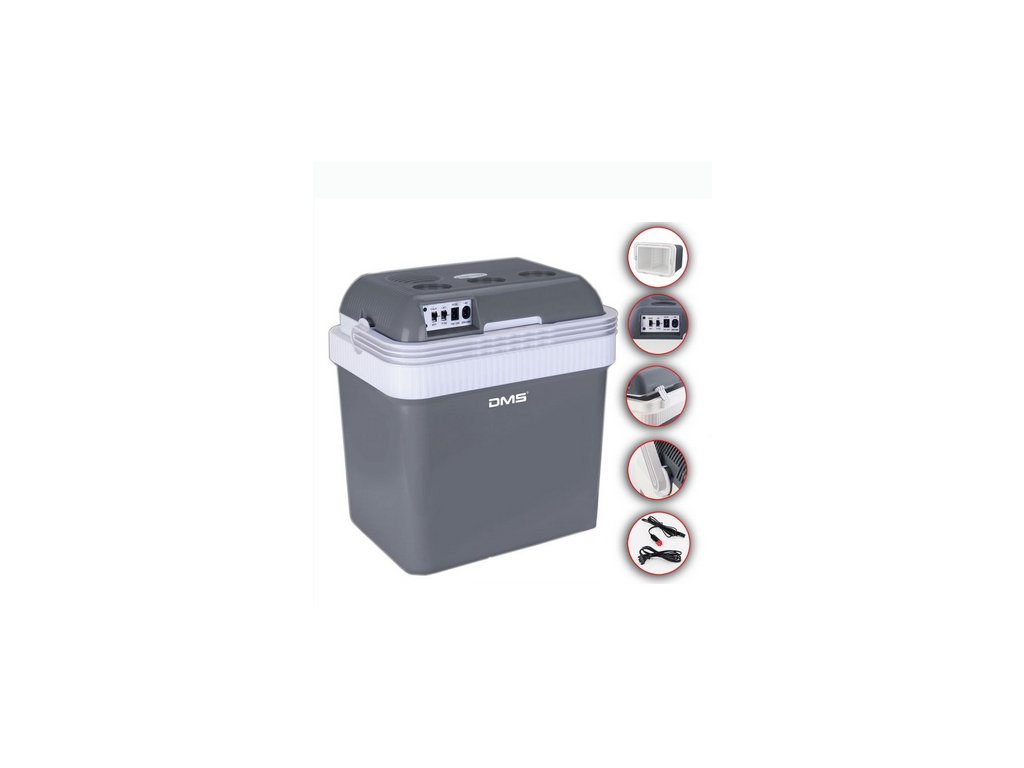 DMS Germany KB-25G chladící box / autochladnička / 25L / 12-24V / 220-240V
