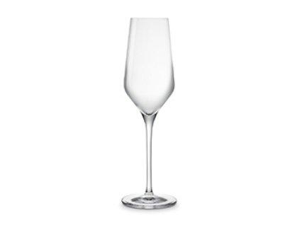 Sklenice na šampaňské Fontignac / sada 4 ks / křišťálové sklo
