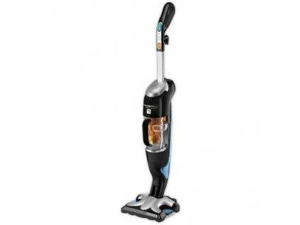 Parní čistič + vysavač Rowenta Clean&Steam RY7535WH - černý/stříbrný