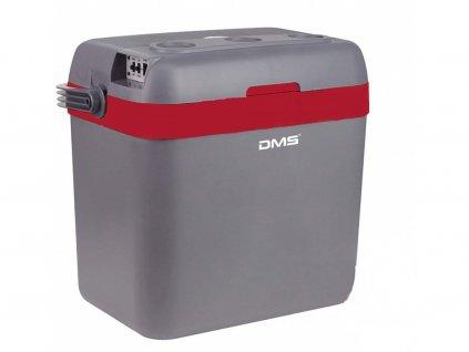 DMS Germany KB-33R chladící box / autochladnička / 33L / 12-24V / 220-240V / červená