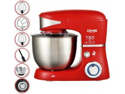 DMS Germany KM-1500R kuchyňský robot 1500 W - červený