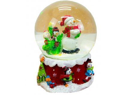 EmaHome - Hudební sněhová koule Frosty the Snowman