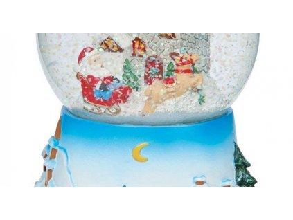 EmaHome - Hudební sněhová koule Jingle Bells
