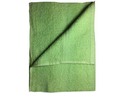 Ručník 50x100 cm bavlna / zelený