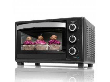 Mini elektrická trouba Cecotec Bake & Toast 550 - černá / 1500 W