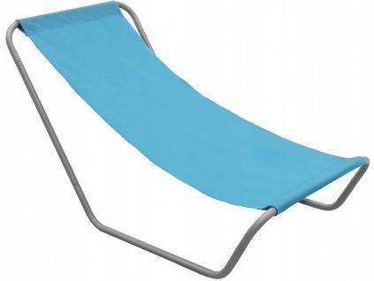 Zahradní lehátko 490295 / relaxační křeslo / modré
