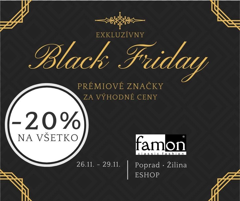 Exkluzívny Black Friday 2020