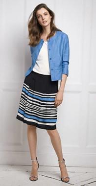 Moderné dámske sako, modré - Gerry Weber