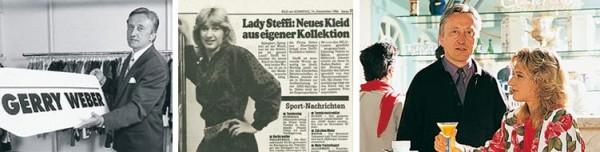 Steffi Graf tvárou Gerry Weber v roku 1986