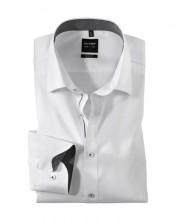 Biznis košeľa Olymp super slim fit s dlhými rukávmi do športového obleku