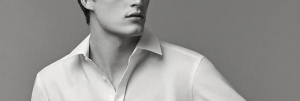 Biela pánska košeľa. Eterna