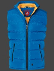 Svetlá modrá zimná pánska vesta Wellensteyn Snowdome Vest Men