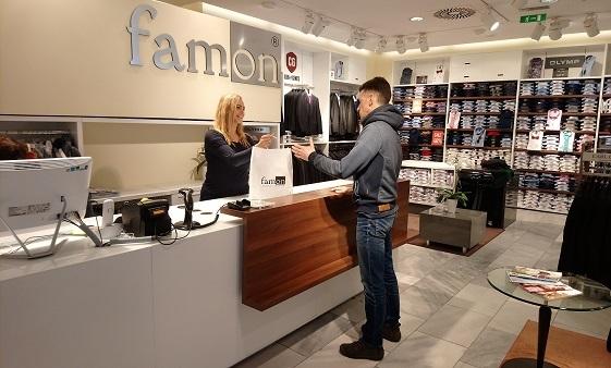 Predajňa Famon Poprad
