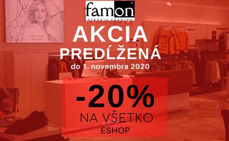 Hriešne dobré nákupy 2020 FAMON